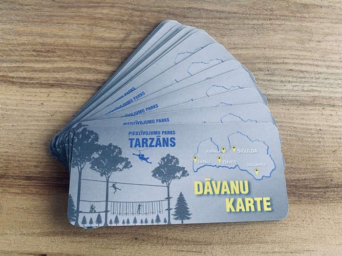 The expiration date of Tarzans gift cards is extended.